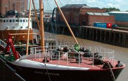 Explore the working trawler Arctic Corsair