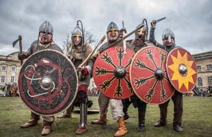Viking Re-encators at JORVIK Viking Festival