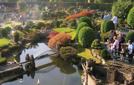 Travel back to the 1930s at Berkonscot Model Village