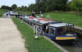 Take a cruise on the Grand Union Canal