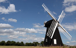 Visit England's oldest Smock Windmill at Lacey Green