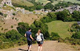 Travel back through the centuries on a coastal break in Dorset