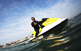 Head to Bournemouth for fun watersports
