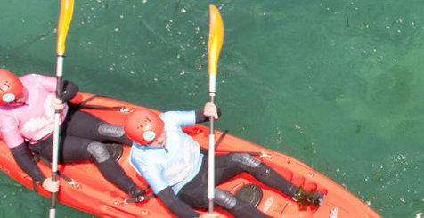 Kayaking in England
