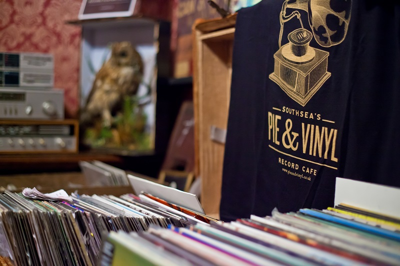 Record Store Day at Pie and Vinyl, Portsmouth