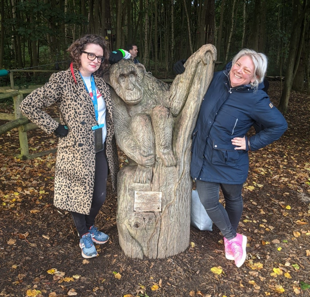 The Scummy Mummies during a trip to Bedgebury Forest in Kent.