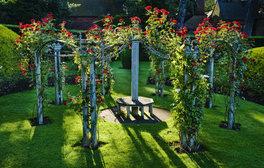 Wightwick Manor, West Midlands - Rose Garden (c)National Trust Images, Andrew Butler