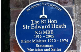 Visit the home of a former Prime Minister