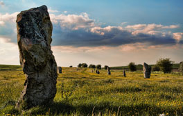 Walk and picnic amongst the prehistoric landscape at Avebury