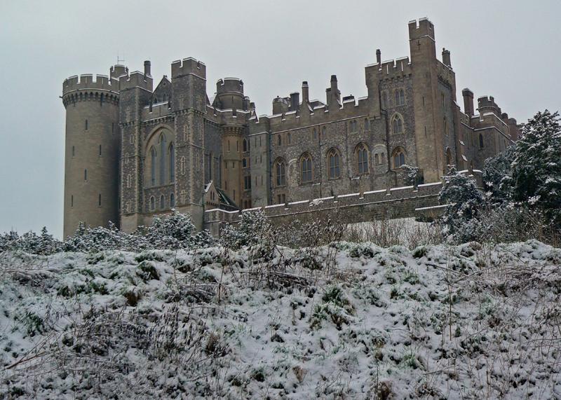 Arundel Castle winter