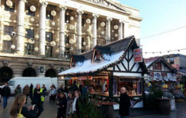 Walk in Nottingham's magical Winter Wonderland