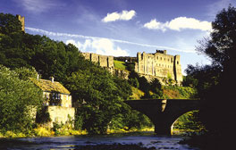 Explore the Norman fortress of Richmond Castle